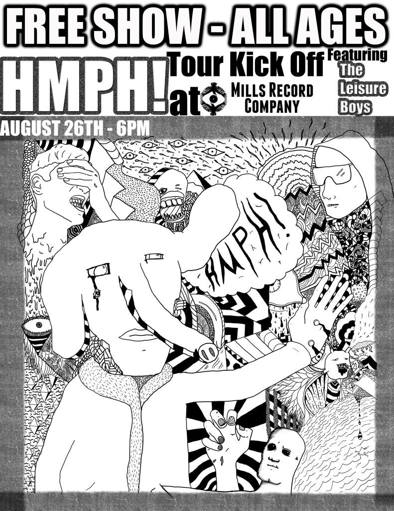 HMPH! Mills Record Company 2015-08-26