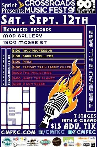 Haymaker Stage @CMF 2015