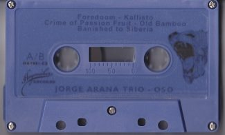 Jorge Arana Trio - Oso Tape