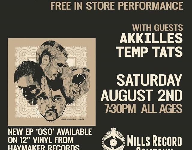 Release Party Show Flyer (Mills)