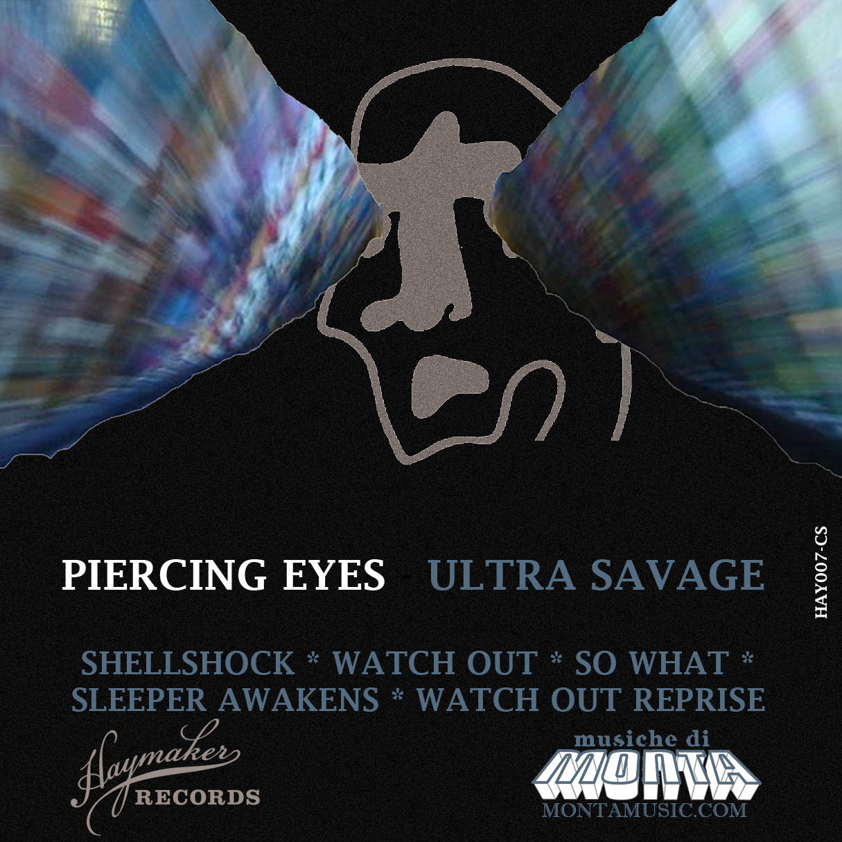 Piercing Eyes Cassette Front