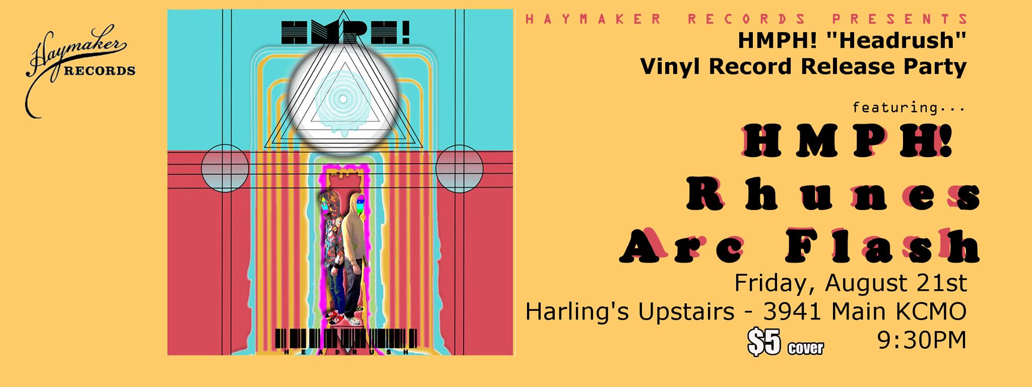 HMPH! Release Party 08/21/15