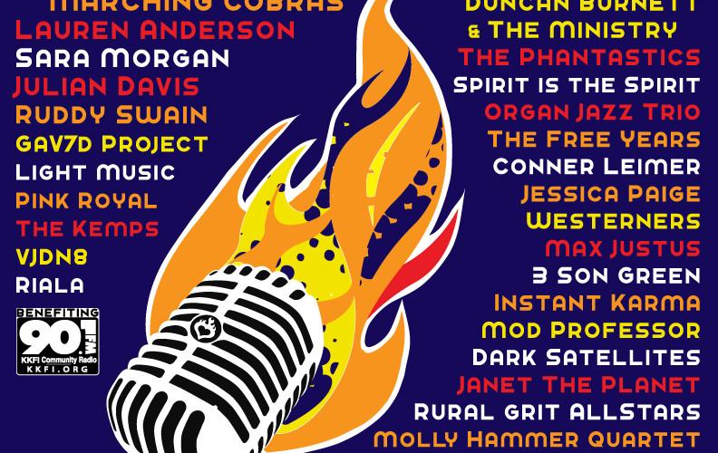 Crossroads Music Fest 2015 Poster