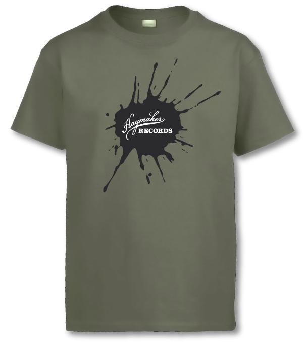 Haymaker Records Lieutenant Green T-Shirt