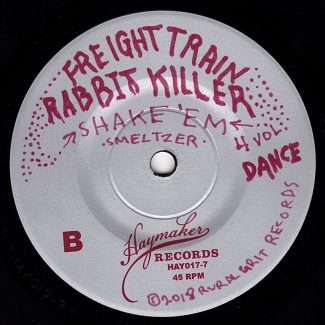 Freight Train Rabbit Killer Vol. 4 - Label B - Black