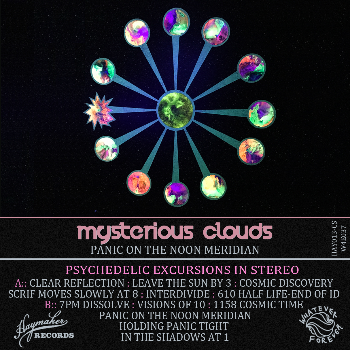 Mysterious Clouds - Panic on the Noon Meridian (Cassette)