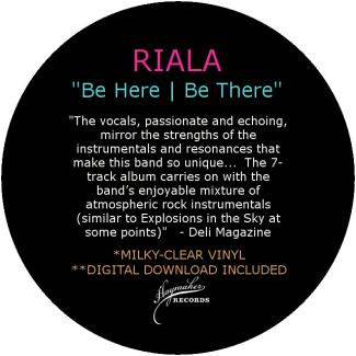 Riala Be Here Be There Quote