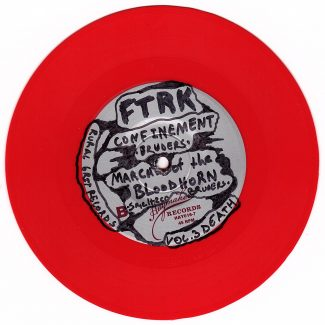 Freight Train Rabbit Killer - Vol. 3 Record Red - B