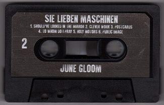 Sie Lieben Maschinen Cassette Side 2
